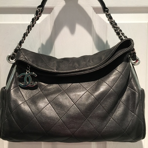 70109424334957 CHANEL Bags | Euc Ultimate Small Soft Quilted Hobo Bag | Poshmark